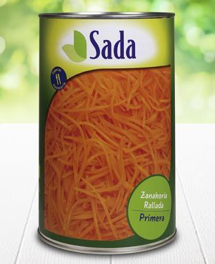 Fotografía de envase de zanahoria rallada 5kg