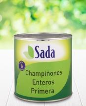 Fotografía de envase de CHAMPIÑÓN ENTERO, latón 3 kg