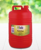 Fotografía de envase de KETCHUP, garrafa 5 kg